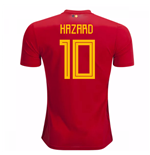 2018-2019 Belgium Adidas Home Shirt (Hazard 10) - Kids