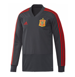 2018-2019 Spain Adidas Training Top (Solid Grey)