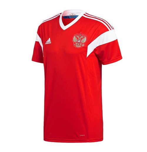 2018-2019 Russia Home Adidas Football Shirt