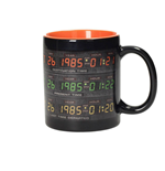 Back to the Future Mug Control Panel