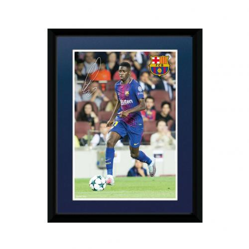 F.C. Barcelona Picture Dembele 8 x 6