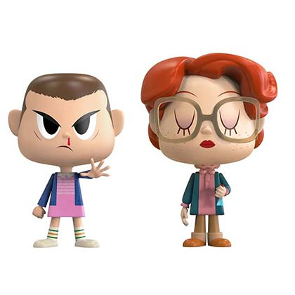 STRANGER THINGS Funko Pop Eleven And Barb Vynl Figure Set