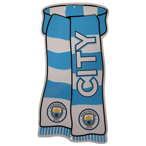 Manchester City F.C. Show Your Colours Sign