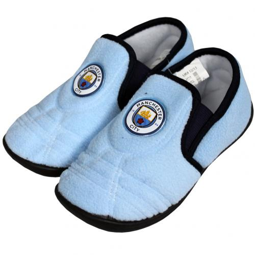 Manchester City F.C. Junior Slippers 5/6
