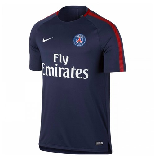 2017-2018 PSG Nike Training Shirt (Navy)