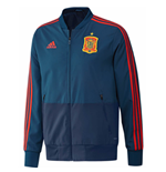 2018-2019 Spain Adidas Presentation Jacket (Blue) - Kids