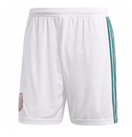2018-2019 Mexico Home Adidas Football Shorts (White)