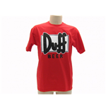 The Simpsons T-shirt Duff