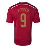 2014-15 Spain World Cup Home Shirt (Torres 9)