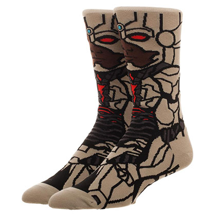 JUSTICE LEAGUE Cyborg Portrait Socks