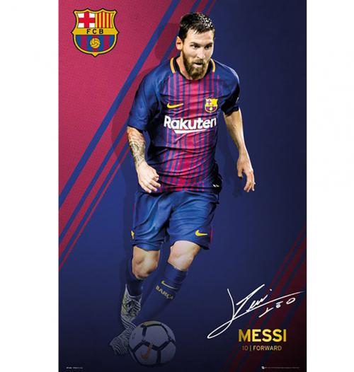F.C. Barcelona Poster Messi 55