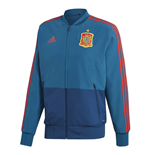 2018-2019 Spain Adidas PES Jacket (Blue) - Kids