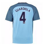2016-17 Man City Home Shirt (Guardiola 4)