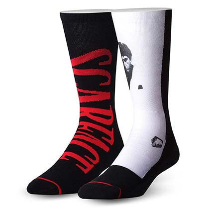 SCARFACE Men's Movie Socks