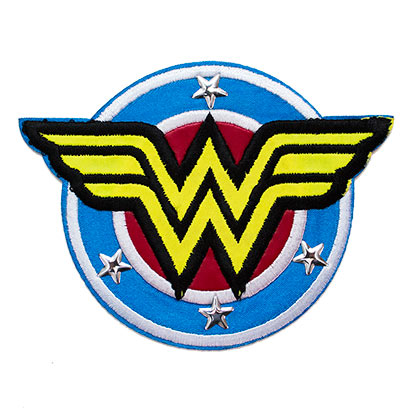 WONDER WOMAN Vintage Logo 3x4 Patch