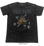 Pink Floyd Men's Fashion Tee: Montage (Vintage Finish)