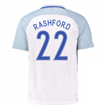 2016-17 England Home Shirt (Rashford 22)