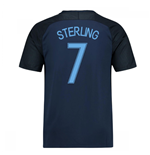 2017-18 England Away Shirt (Sterling 7)