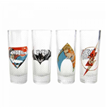 Justice League Glassware 285476