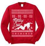 Motley Crue Men's Sweatshirt: Holiday