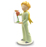 The Little Prince Collector Collection Statue The Little Prince & The Rose 21 cm