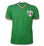 Mexico Pele 1980\'s short sleeve 100% cotton