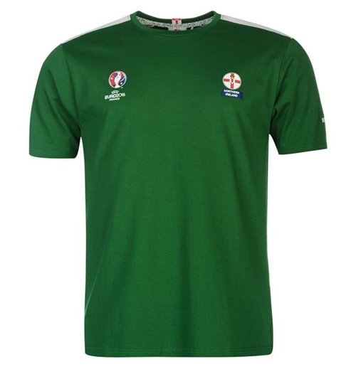Northern Ireland UEFA Euro 2016 Core T-Shirt (Green)