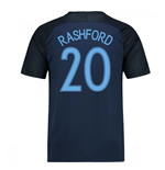 2017-18 England Away Shirt (Rashford 20)