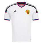 2015-2016 FC Basel Adidas Authentic Away Football Shirt
