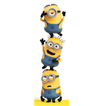 Despicable Me - 3 Minions Door Poster (53X158 Cm)