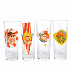 Street Fighter Glassware 286510