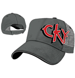 CKY - Offset Grey Truck Cap