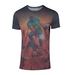 DOOM Men's Box Art Sublimation T-Shirt, Extra Large, Multi-colour