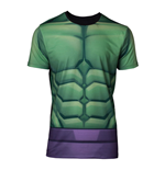 MARVEL COMICS Incredible Hulk Men's Sublimation T-Shirt, Large, Multi-colour