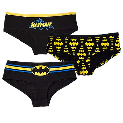 BATMAN Women's 3-Pack Panties