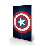 The Avengers Print on wood 286823