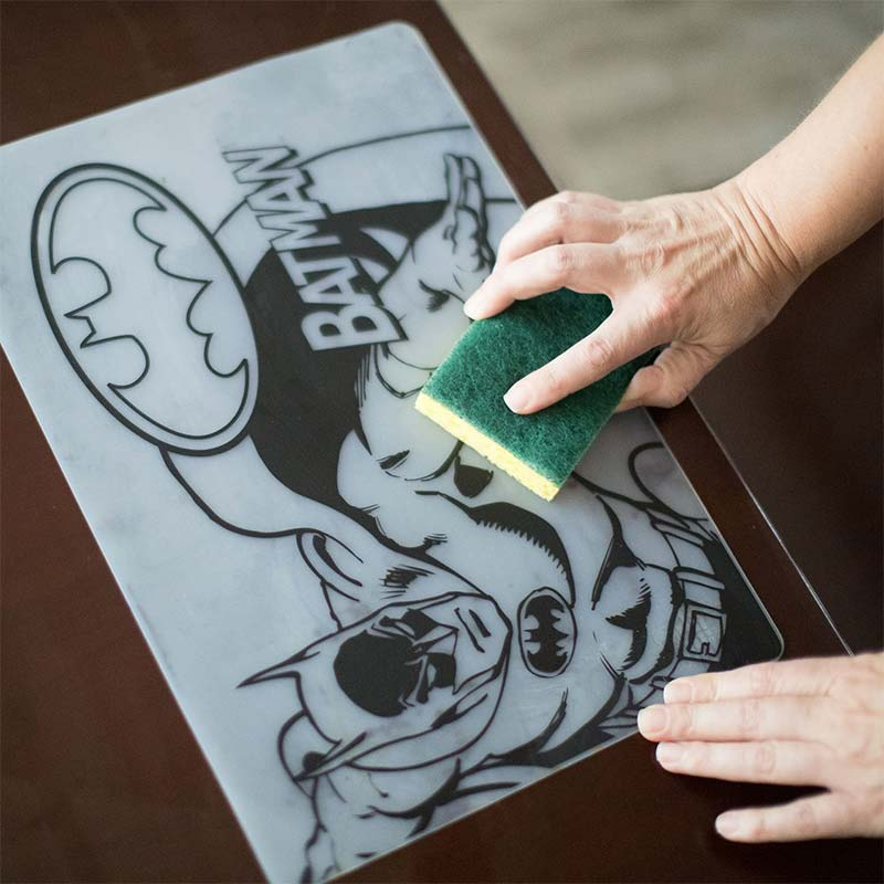 BATMAN Silicone Coloring Placemat