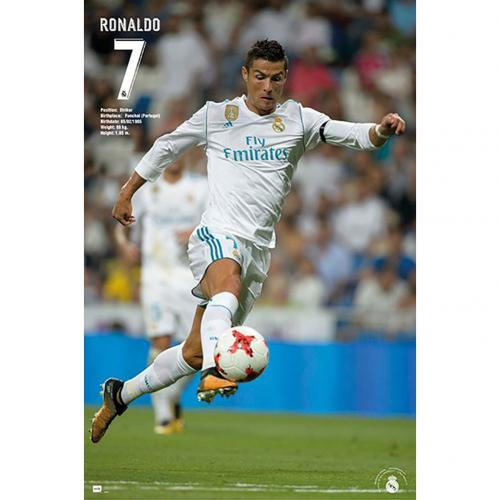 Real Madrid F.C. Poster Ronaldo 27