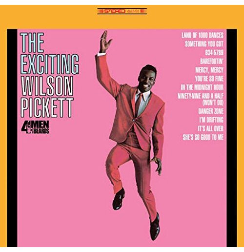 Vynil Wilson Pickett - Exciting Wilson Pickett (Turquoise Vinyl)