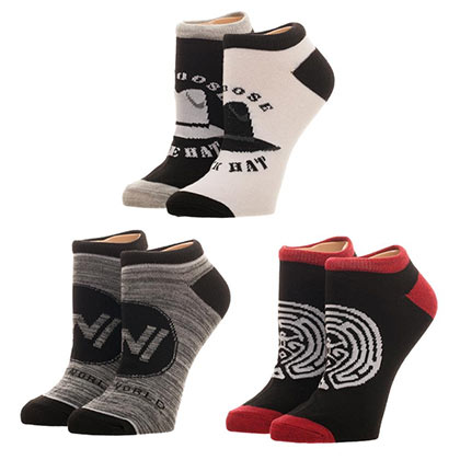 WESTWORLD Women's Ankle Socks Set