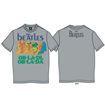 The Beatles Men's Premium Tee: Ob-La-Di (Back Print)
