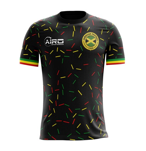 2018-2019 Jamaica Third Concept Football Shirt (Kids)