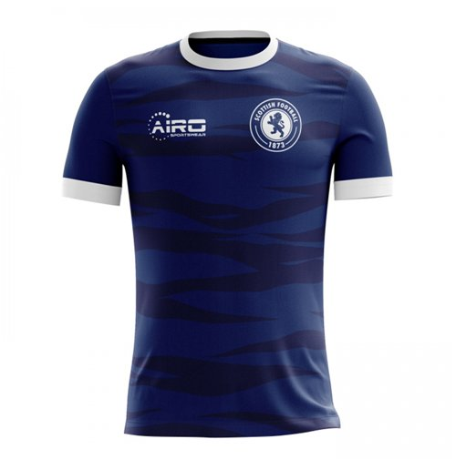 2018-2019 Scotland Home Concept Football Shirt (Kids)