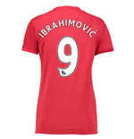 2016-17 Man United Womans Home Shirt (Ibrahimovic 9)