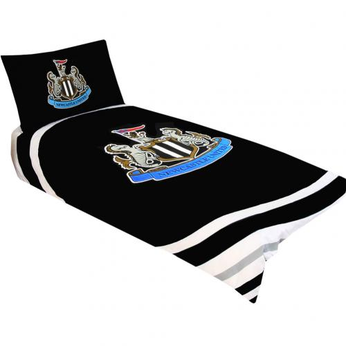 Newcastle United F.C. Single Duvet Set PL