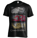 Game of Thrones T-Shirt 3 Sigils Row