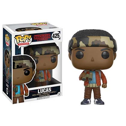 STRANGER THINGS Funko Pop Lucas Vinyl Figure