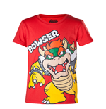 Super Mario T-shirt Bowser