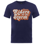 The Doors Men's Tee: Riders on the Storm Logo