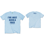 The Beatles Men's Tee: I've Just Seen A Face (Back Print)